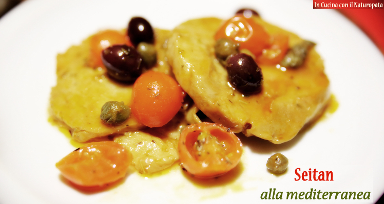 Cucina con Edo: il Seitan alla Mediterranea