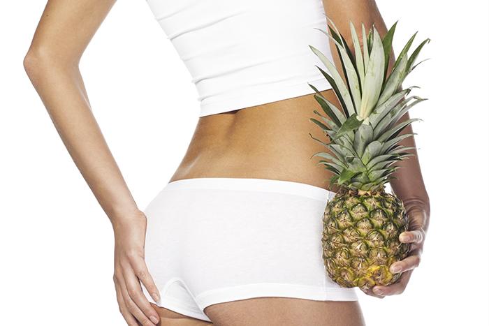 Sembra che l'ananas possa essere un valido alleato per combattere la cellulite