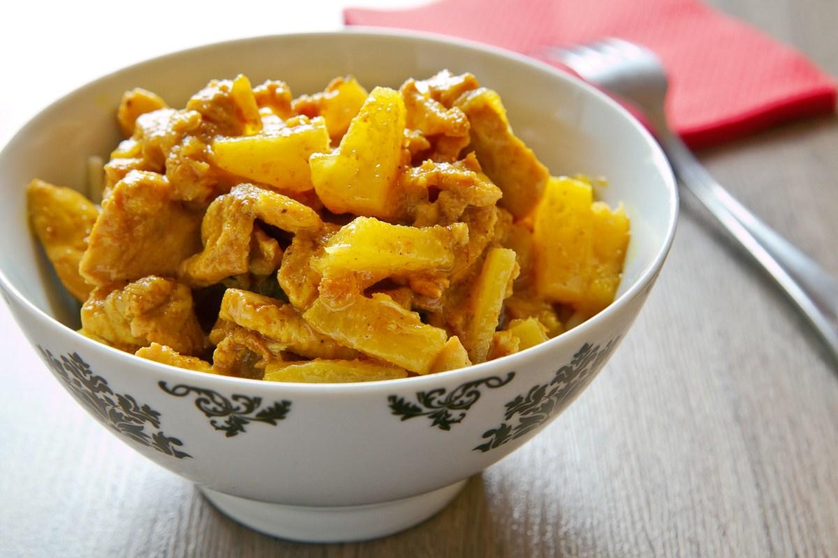 Ricetta pollo all'ananas