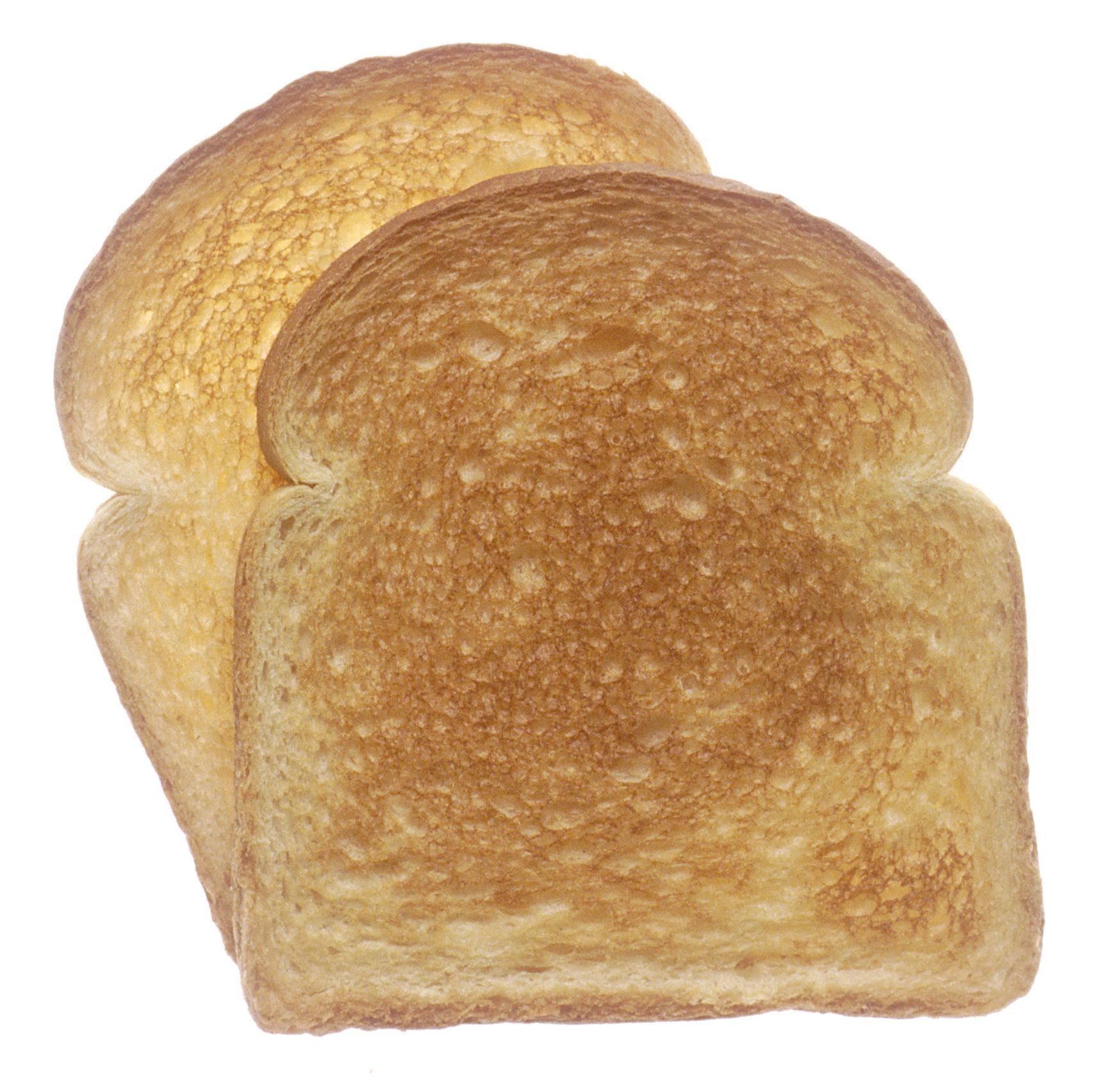 Il pane tostato può contenere quantità considerevoli di acrilamide