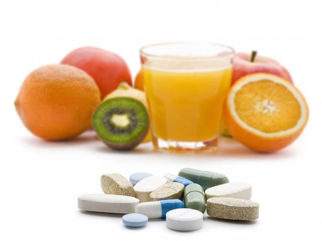 Le vitamine e gli integratori