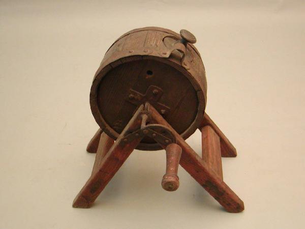 La zangola rotatoria per il burro