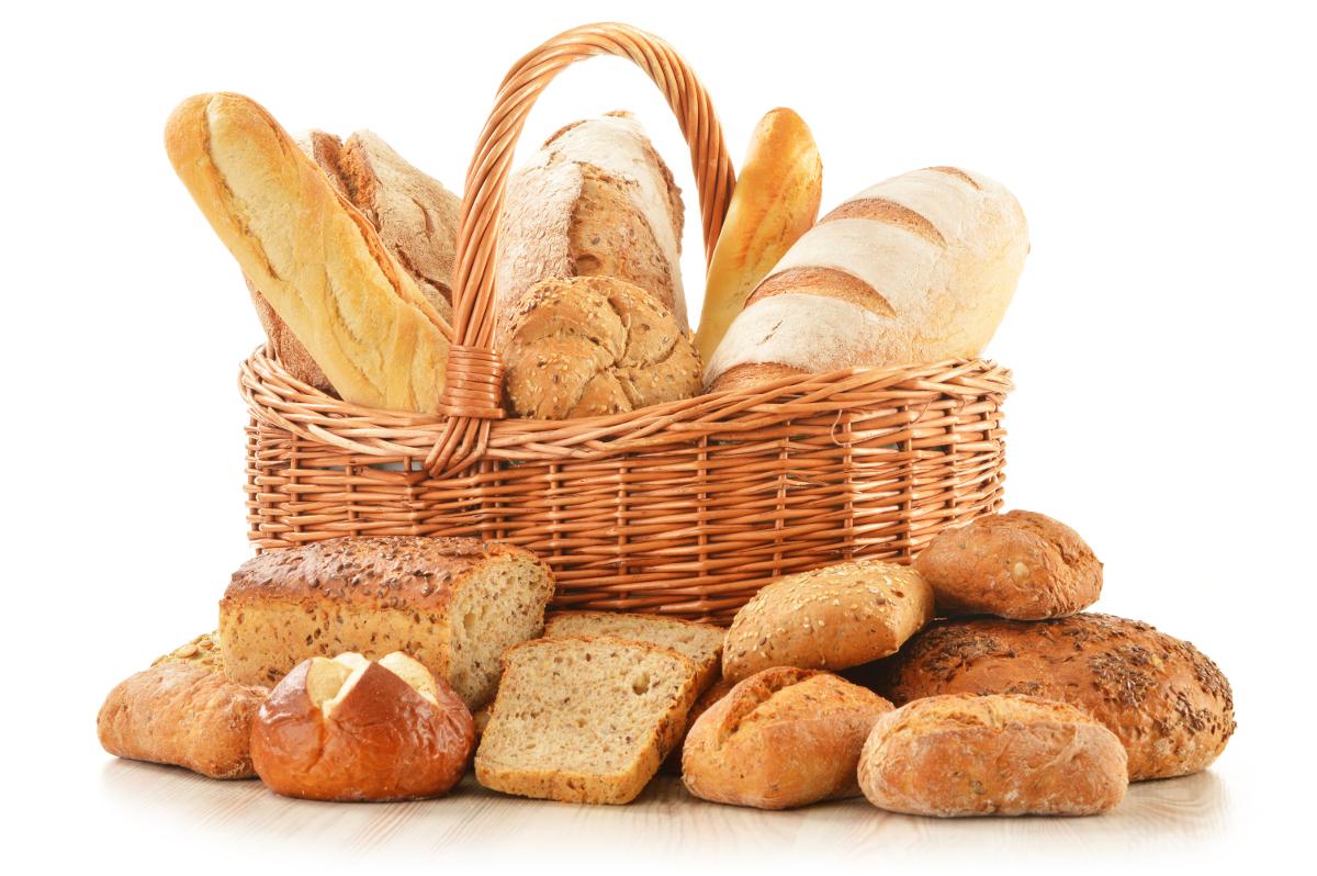 Il pane di grano è il principale prodotto che contiene glutine