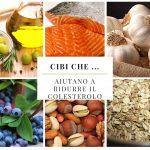 Cibi che …  aiutano a ridurre il colesterolo