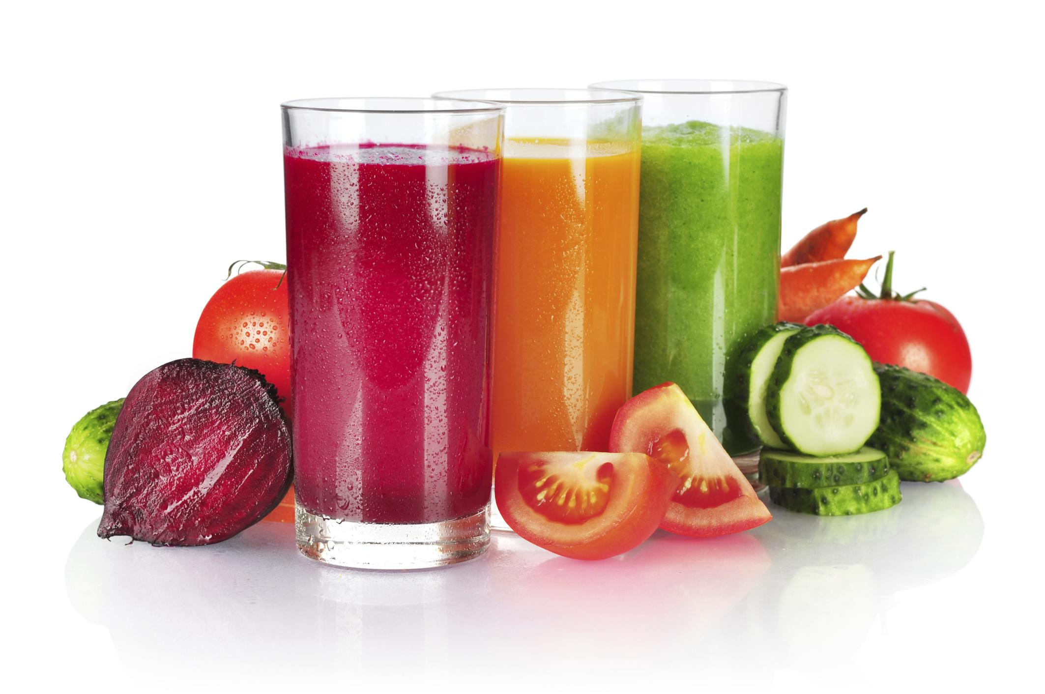 Centrifugati di frutta e verdure