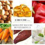 Cibi che … contengono più vitamina A