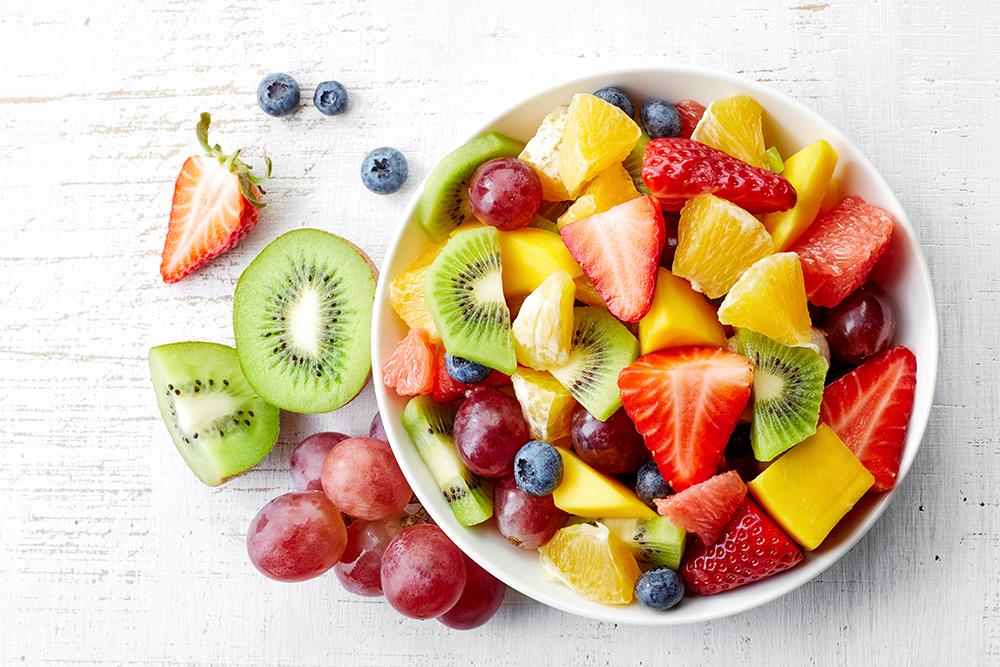 Il consumo di frutta va sempre incoraggiato: che sia a fine pasto o come spuntino, l'importante è che tre porzioni al giorno non manchino mai!