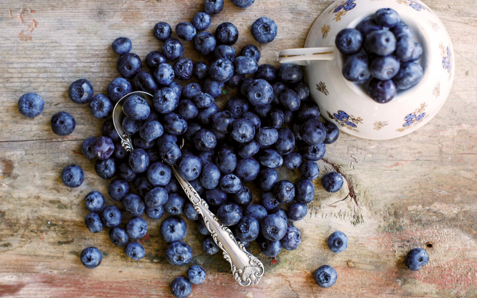 I mirtilli sono una vera e propria miniera di antiossidanti, amici di cuore e vasi sanguigni