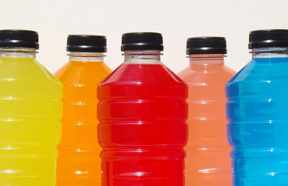 Gli sport drink non contengono solo acqua e zuccheri