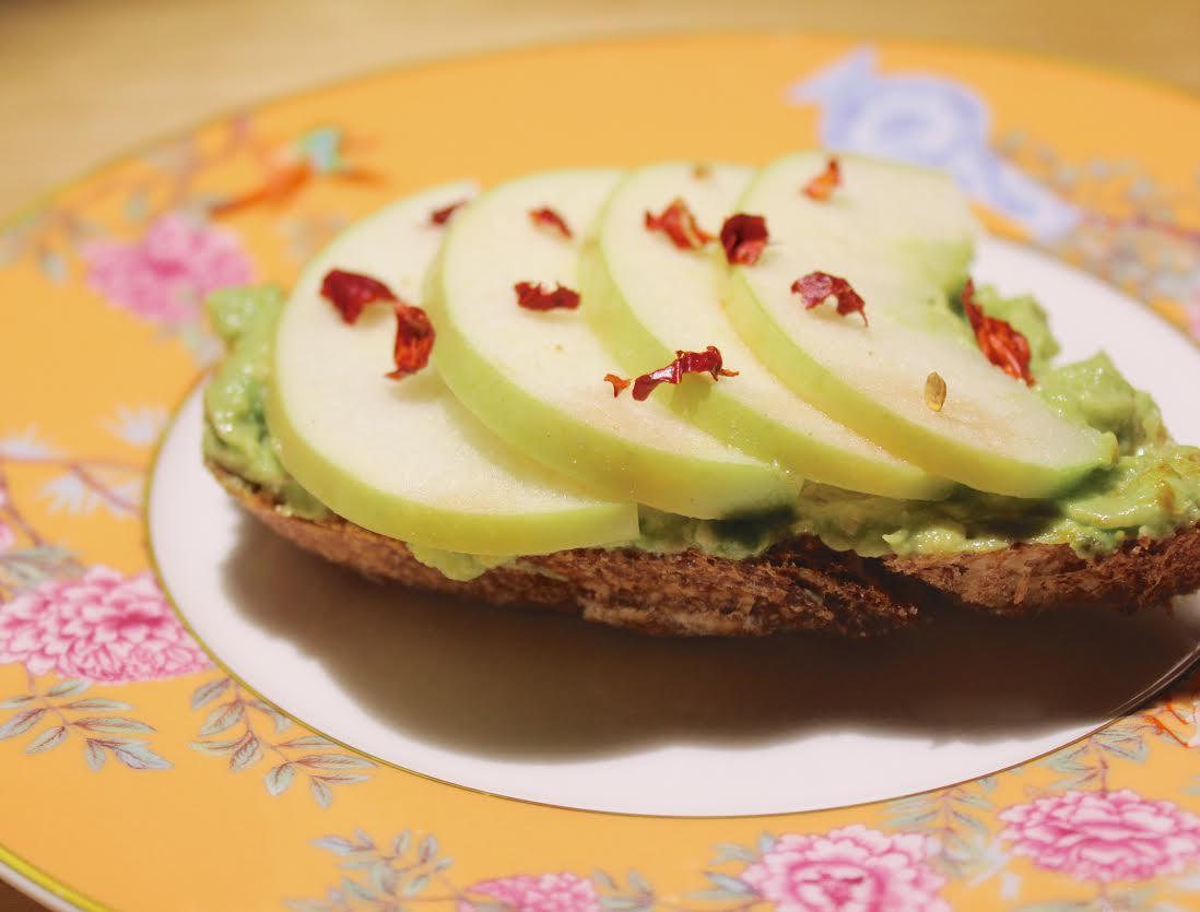 Toast di avocado