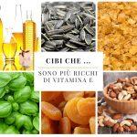 Cibi che … sono più ricchi di vitamina E