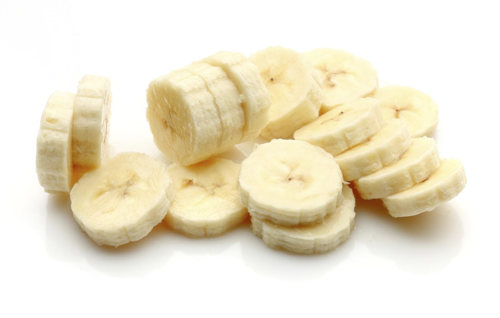 L'interno di una banana