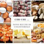Cibi che … sono ricchi di colesterolo