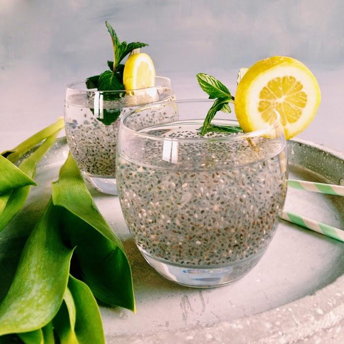 La chia fresca è un ottimo energy drink