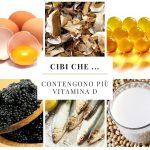 Cibi che … contengono più vitamina D