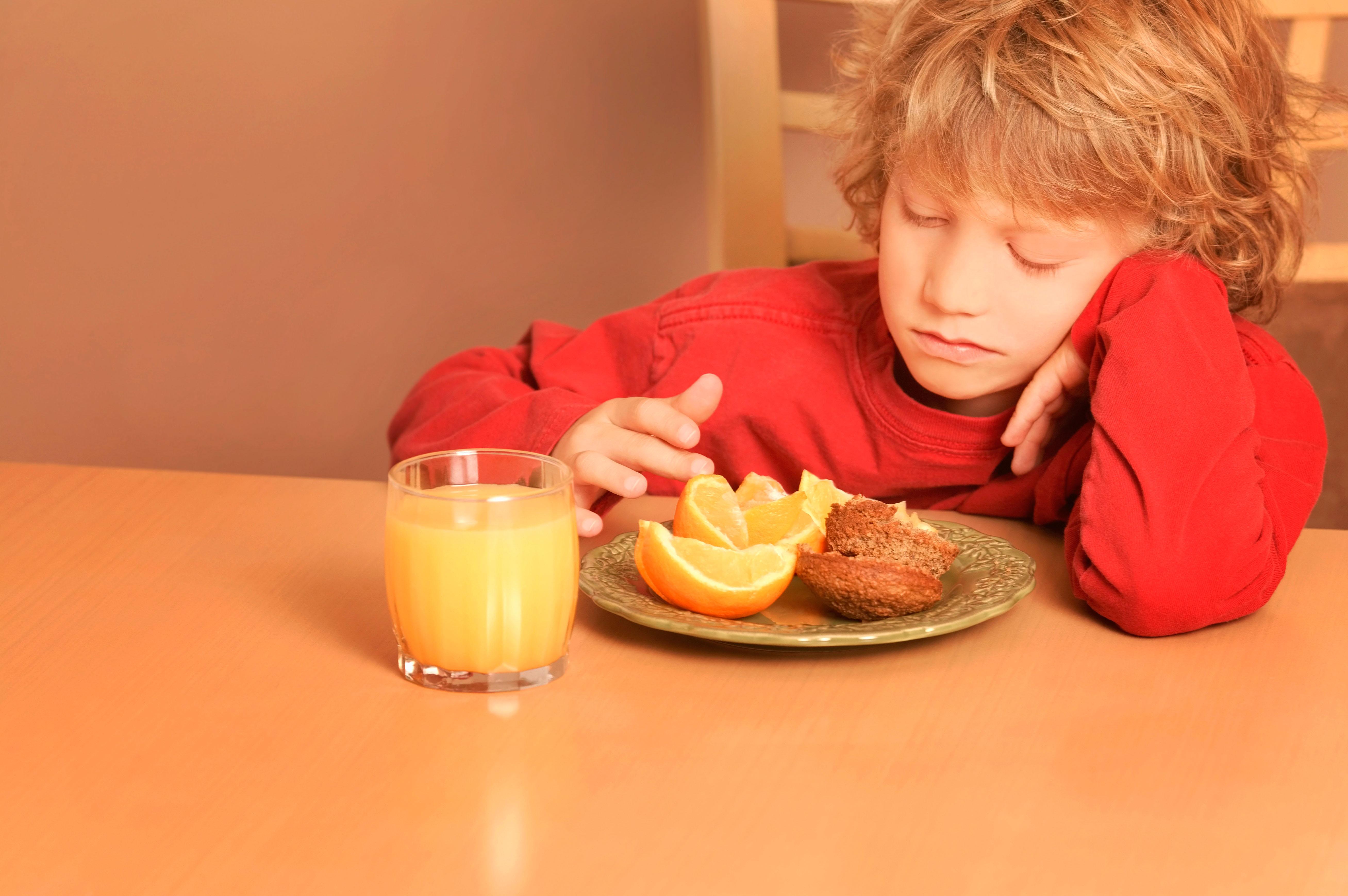Bambini: rifiuto del cibo