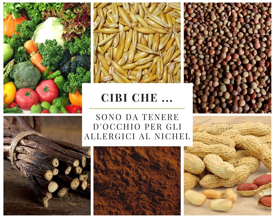 Cibi che … sono da tenere d'occhio per gli allergici al nichel