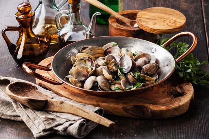 La cottura dei molluschi