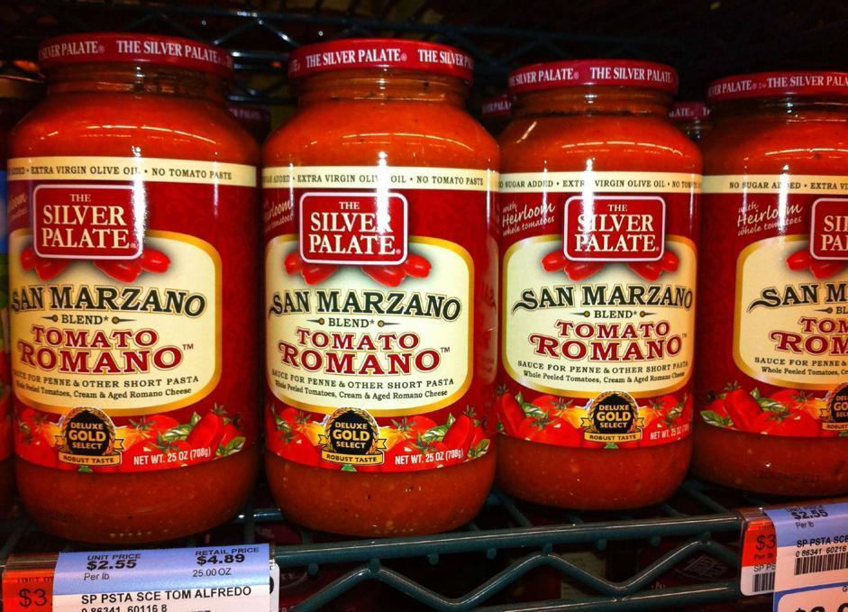 Pomodoro San Marzano contraffatto