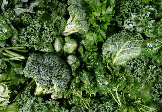 Vegetali a foglia verde