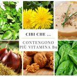 Cibi che … contengono più vitamina B9