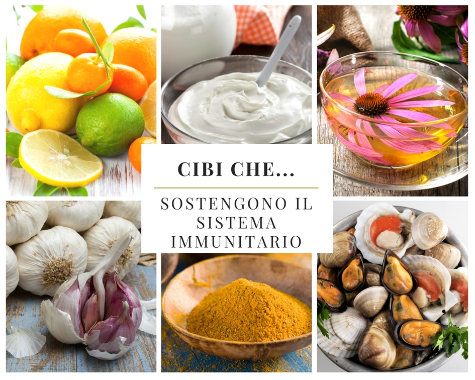 Cibi che… sostengono il sistema immunitario